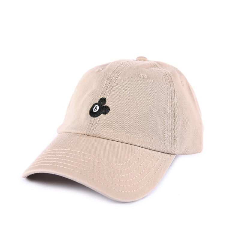 Image of  8 Ball Low Profile Sports Cap - Tan