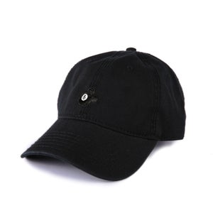 Image of  8 Ball Low Profile Sports Cap - Black