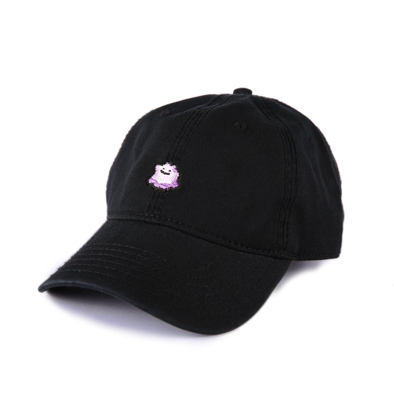 Image of  Purple Slime Low Profile Sports Cap - Black