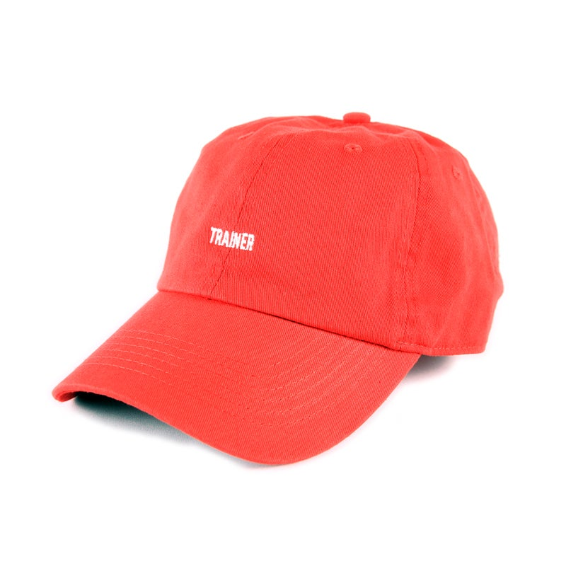 Image of  Trainer Low Profile Sports Cap - Red