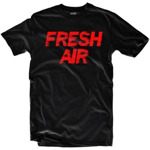 "Image of LIKE MIKE ""FRESH AIR"" Blk/Red"