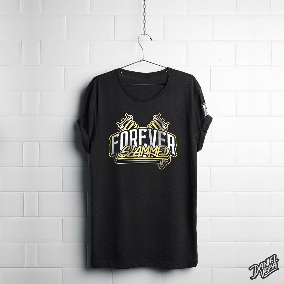 Image of Forever Slammed Classic Coilover Graphic T-Shirt