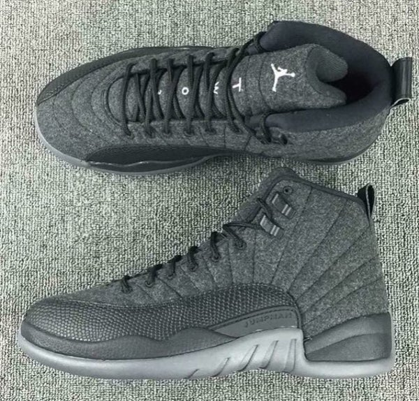 Image of AIR JORDAN 12 WOOL | GS