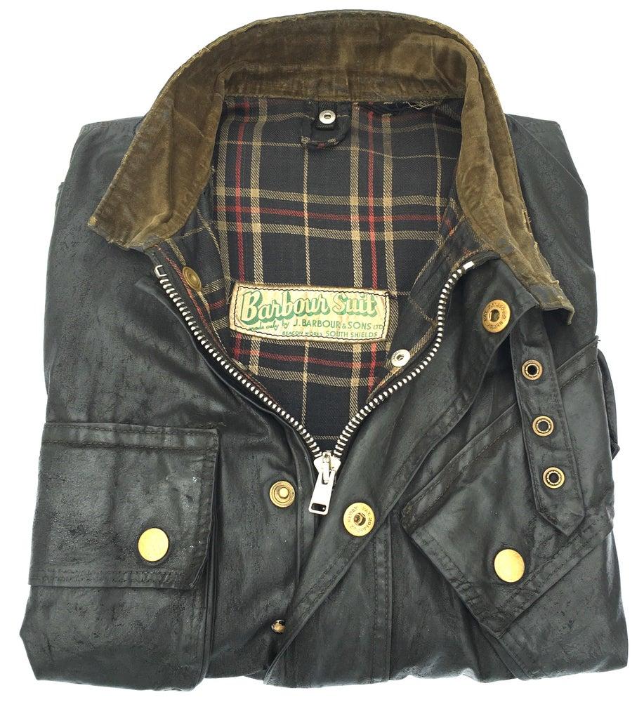 Image of Barbour Suit 1950's International biker jacket
