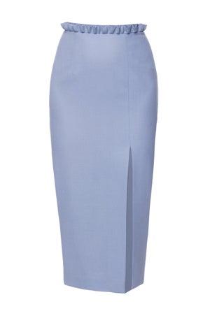 Skye Skirt Periwinkle Blue $580.00 - Melissa Bui