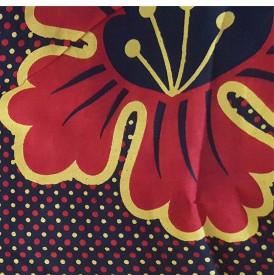 Image of The 'HIBISCUS' Khanga Scarf