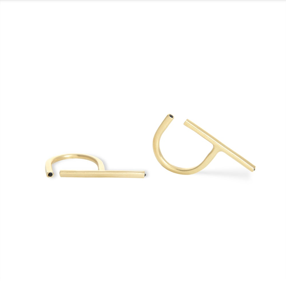 Image of Knot No5 Ring Gold Edition