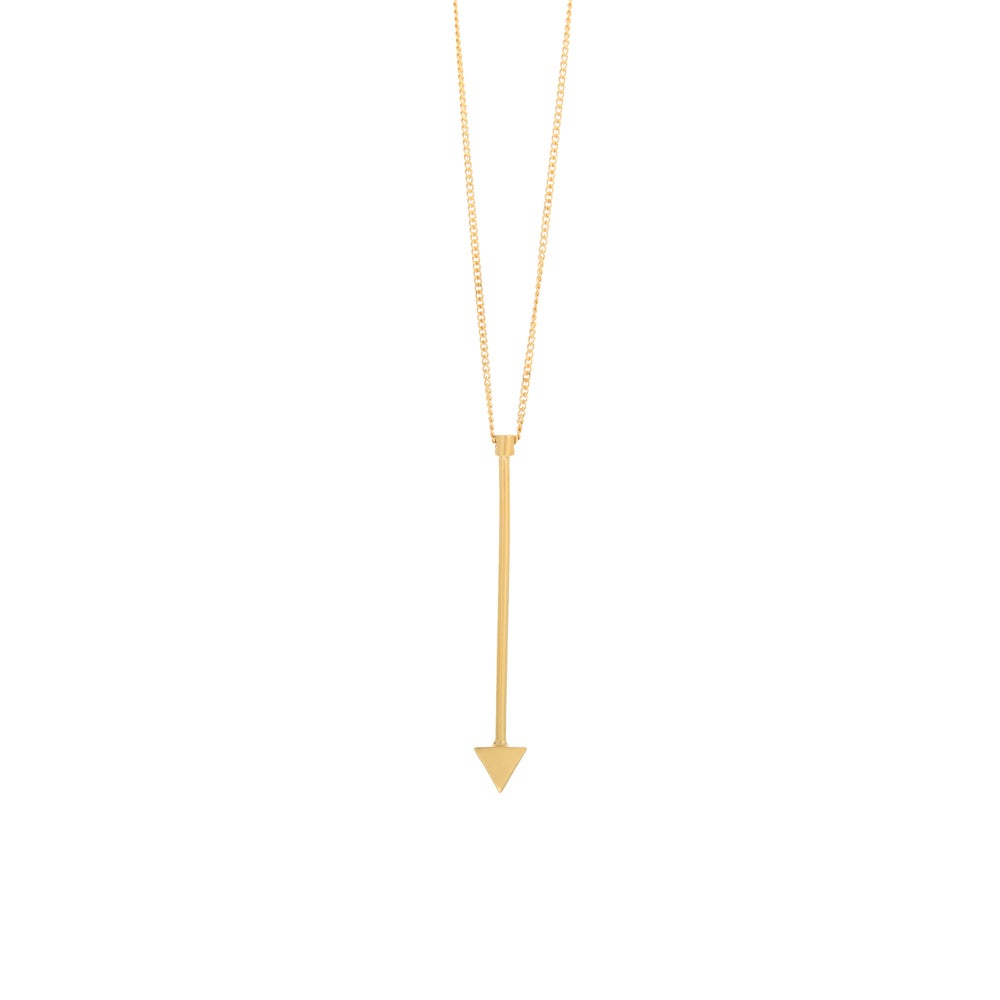 Image of Arrow Gold Necklace