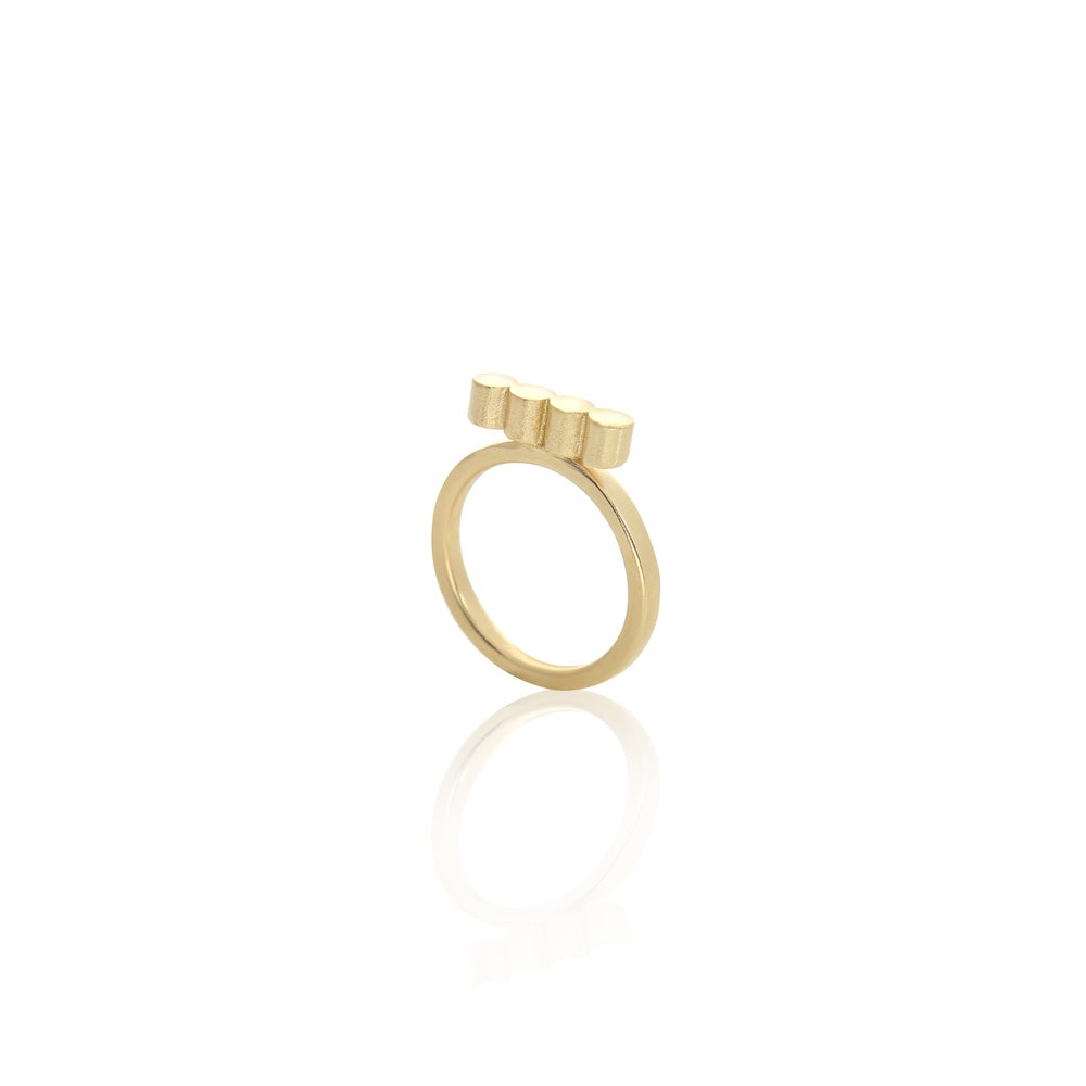 Image of Balls Ring Gold Edition