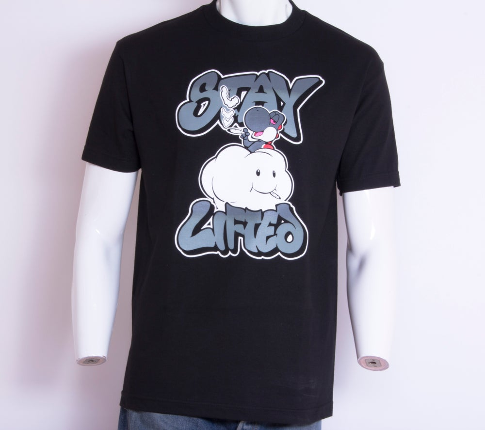 Image of Stay Lifted Tee Gray
