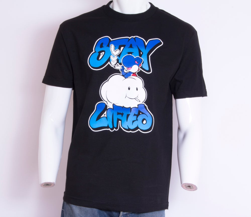 Image of Stay Lifted Tee Blue