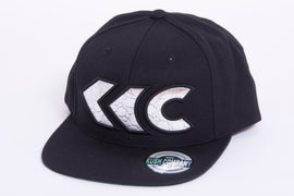 Image of Silver Croc Applique Snap Back