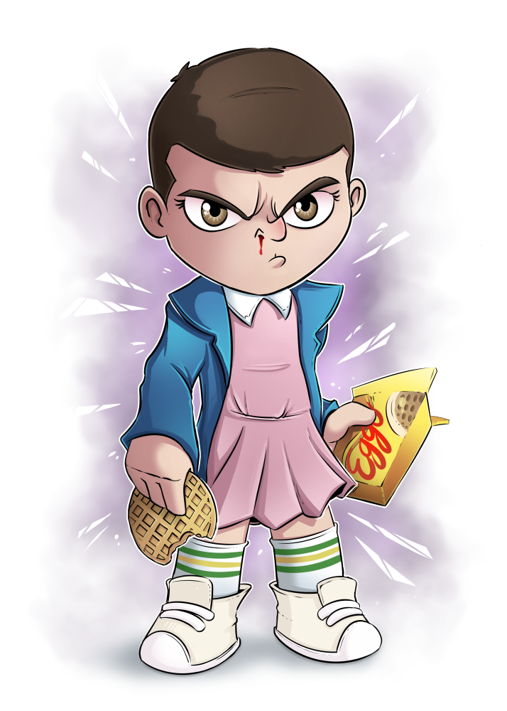 Image of Eleven - Stranger Things - Poster
