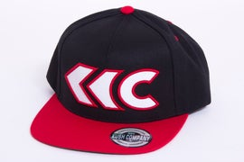 Image of Black/Red Applique Snap Back 1