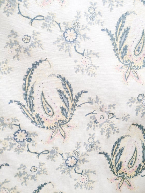 Image of Paisley Stripe Bunny on Cream