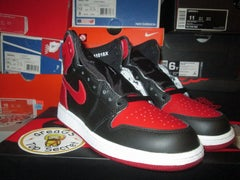 "Air Jordan I (1) Retro Hi ""Banned"" GS - areaGS - KIDS SIZE ONLY"