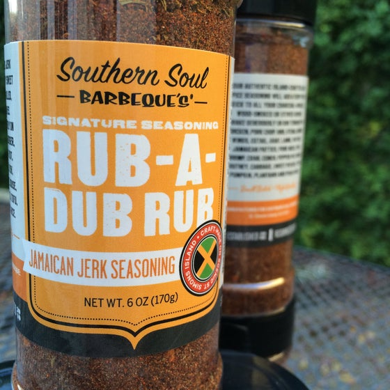 Image of NEW!! RUB-A-DUB RUB - Jamaican Jerk Seasoning
