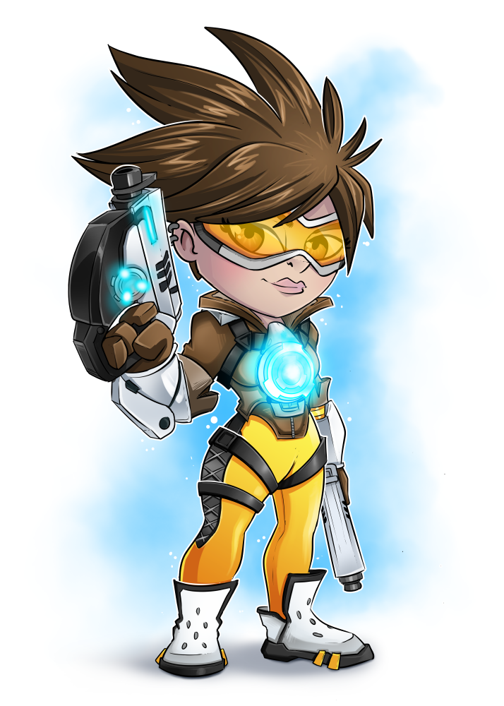 Image of Tracer - Overwatch - Poster