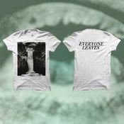 Image of PRE-ORDER: Everyone Leaves T-Shirt- Lonely End Album Art