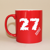 "Image of EVOL ""#27"" RED MUG"