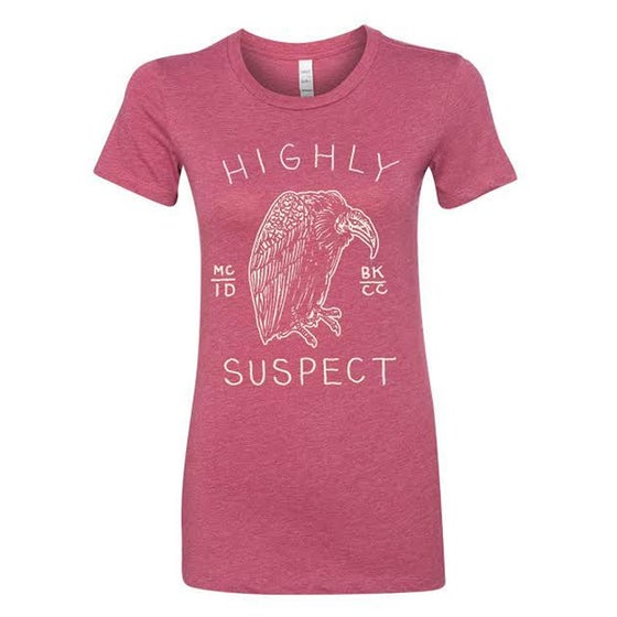 Image of Vulture Tee - Pink