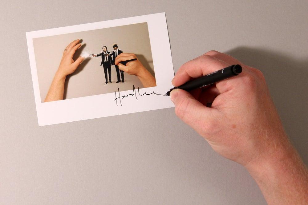 Image of Pulp Paintball Autograph Mini Print