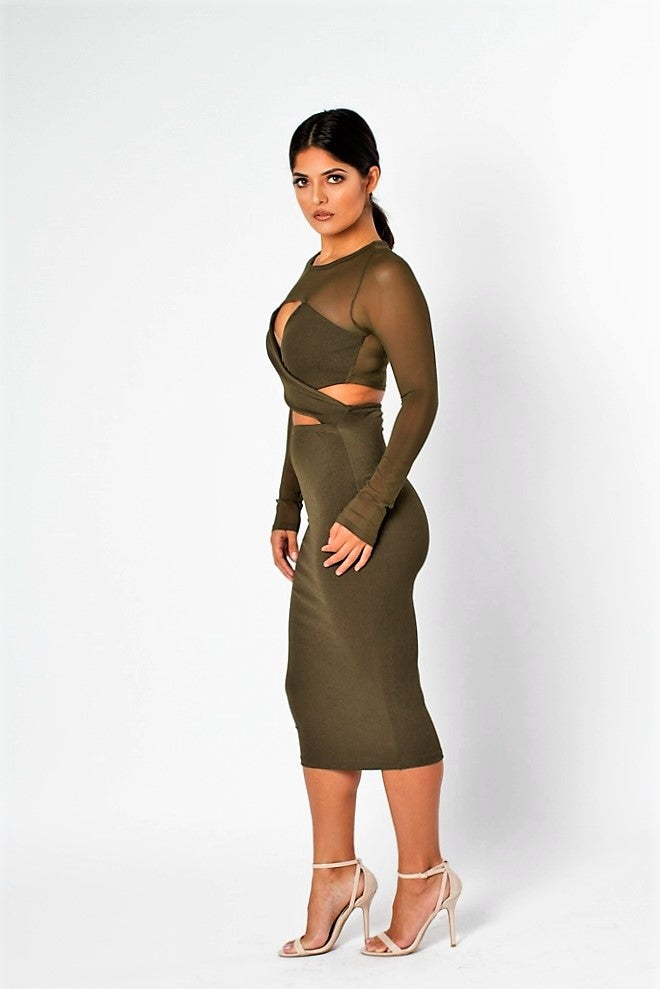 Image of Crossed Up Dress