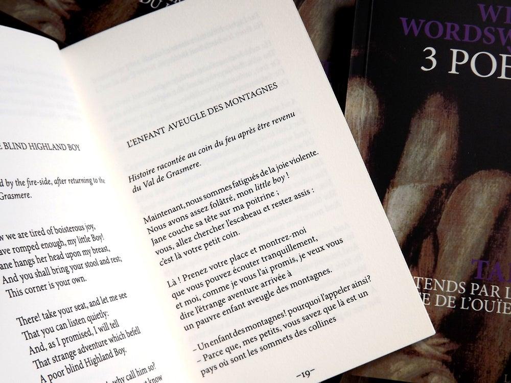 Image of 3 Poèmes de William Wordsworth / Entends par la vertu puissante de l'ouïe du lion de Talweg
