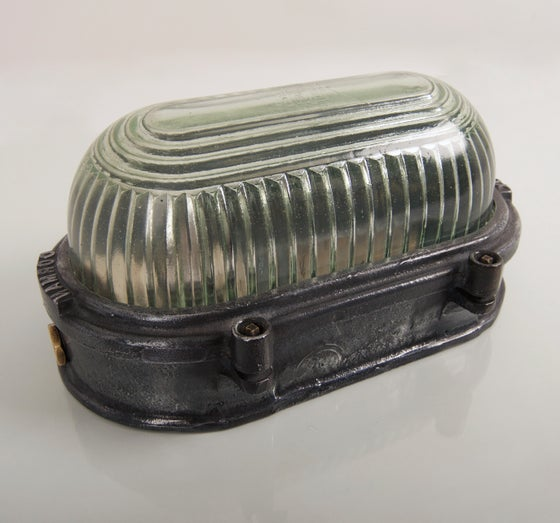 Image of 1930's Dorman Diolux Bulkhead Light
