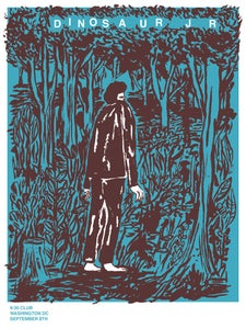 Image of DINOSAUR JR show print