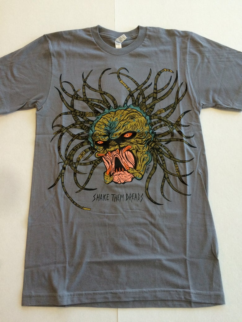 Image of Shake Them Dreads Grey | By SKINNER | T Shirt
