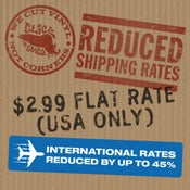 Image of NEW FLAT RATE & DISCOUNTED SHIPPING