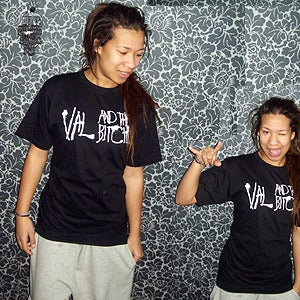Image of Val and The Bitches T-shirt