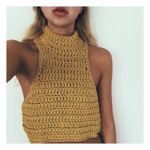 Image of Hamptons Crochet Crop