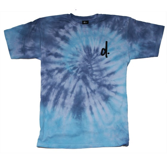 Image of Deep Blue Tie Dye