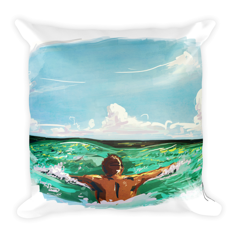 Image of Go Swim Pillow