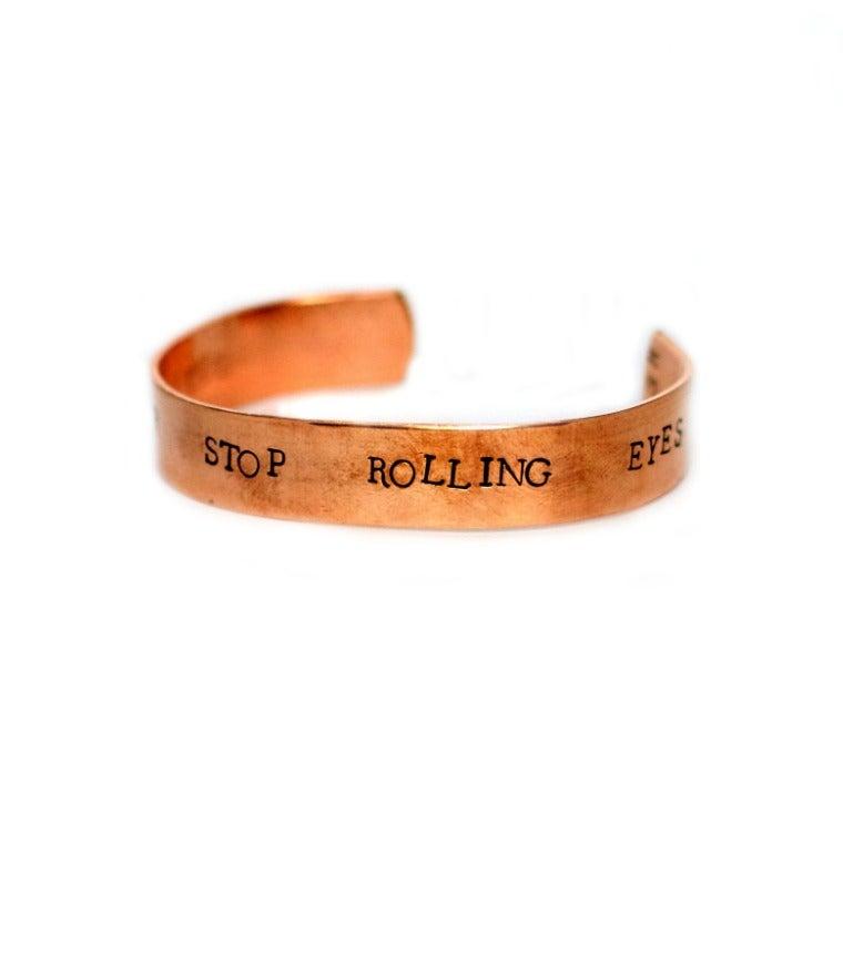 Image of *REMINDER* Stop Rolling Eyes
