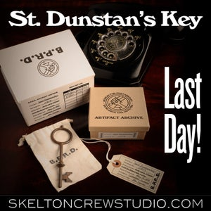 Image of Hellboy/B.P.R.D.: Key to St. Dunstan's Box - SOLD OUT