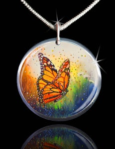 "Image of Butterfly ""In The Moment"" Energy Pendant"