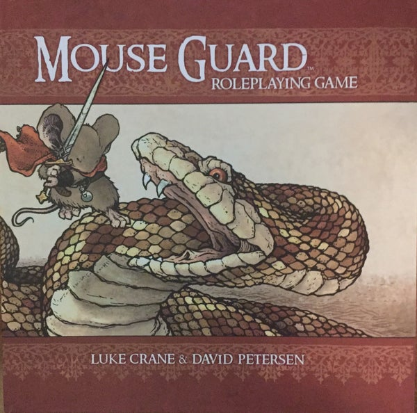 Image of Mouse Guard RPG 2nd Edition Hardcover *SIGNED*