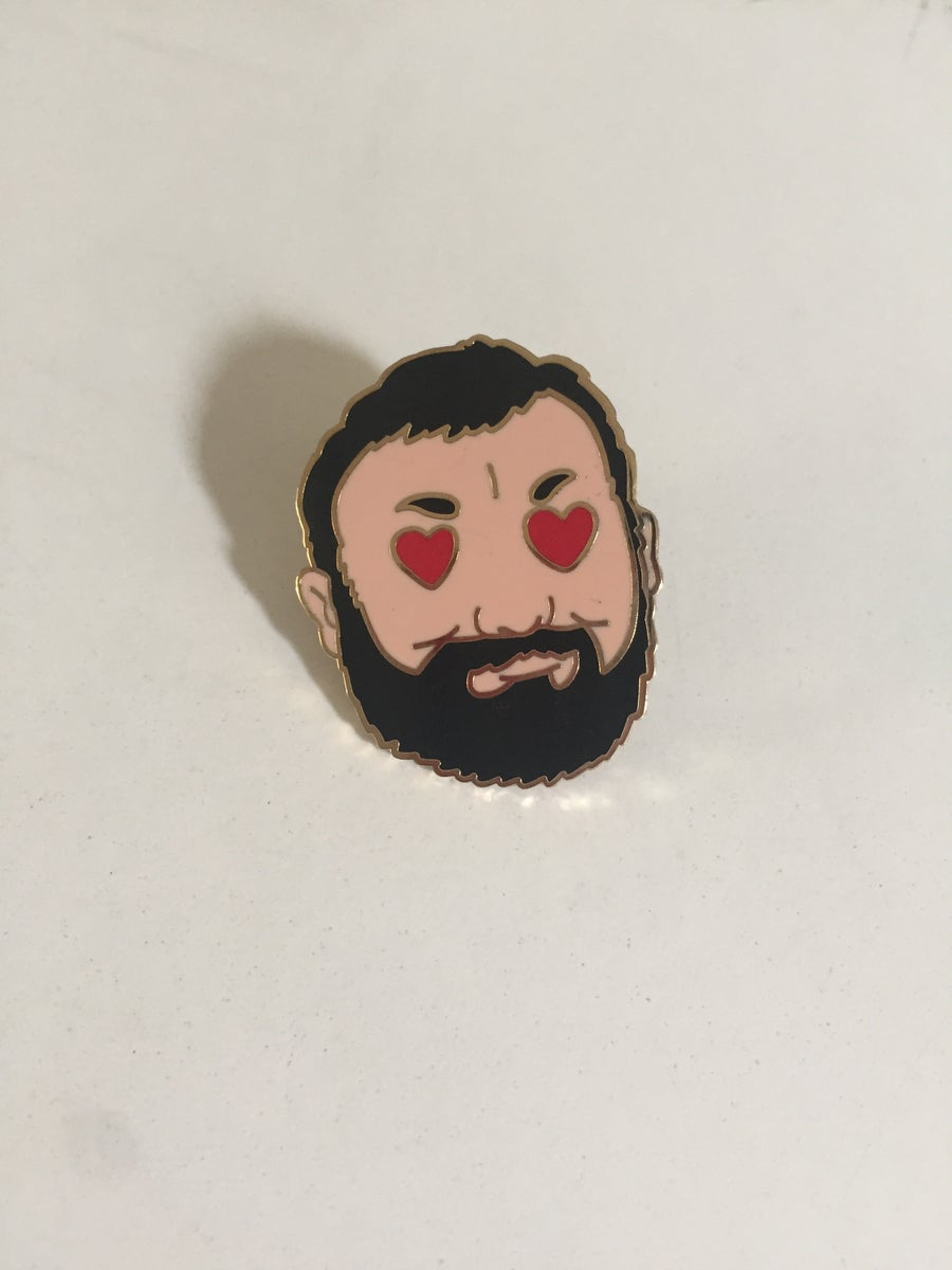 Image of BEAR LUV enamel pin