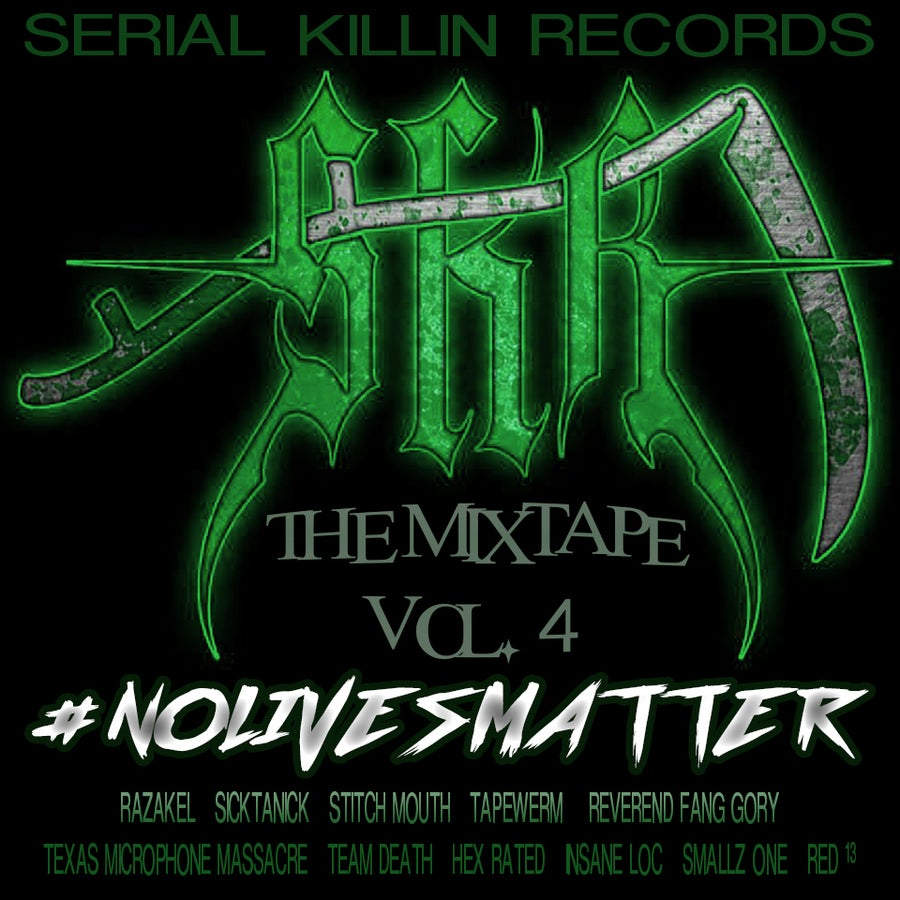 "Image of SKR THE MIXTAPE VOL. 4 ""#NOLIVESMATTER"" CD"