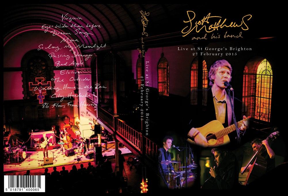 Image of Scott Matthews - Live At St George's Brighton DVD