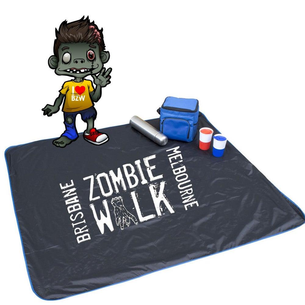 Image of Zombie Walk Picnic Mat