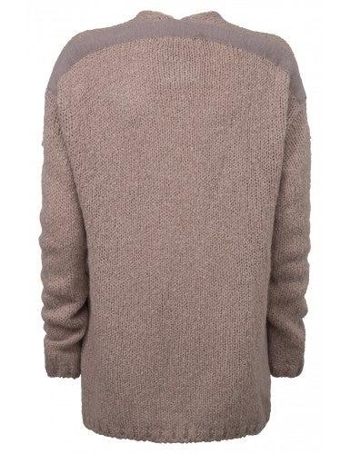 Image of YAYA Oversized open cardigan
