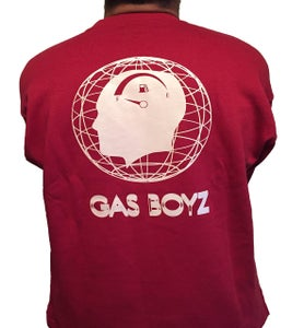 Image of ''GAS BOYZ'' sweater ***ROJO PASTILLA *de freno***