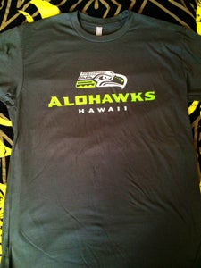 Image of Alohawks Unisex Shirt- Gray