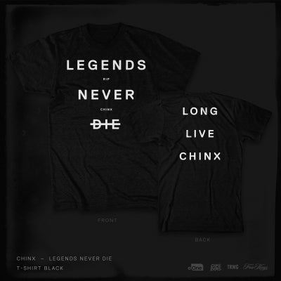 Image of Legends Never Die - TSHIRT BLACK