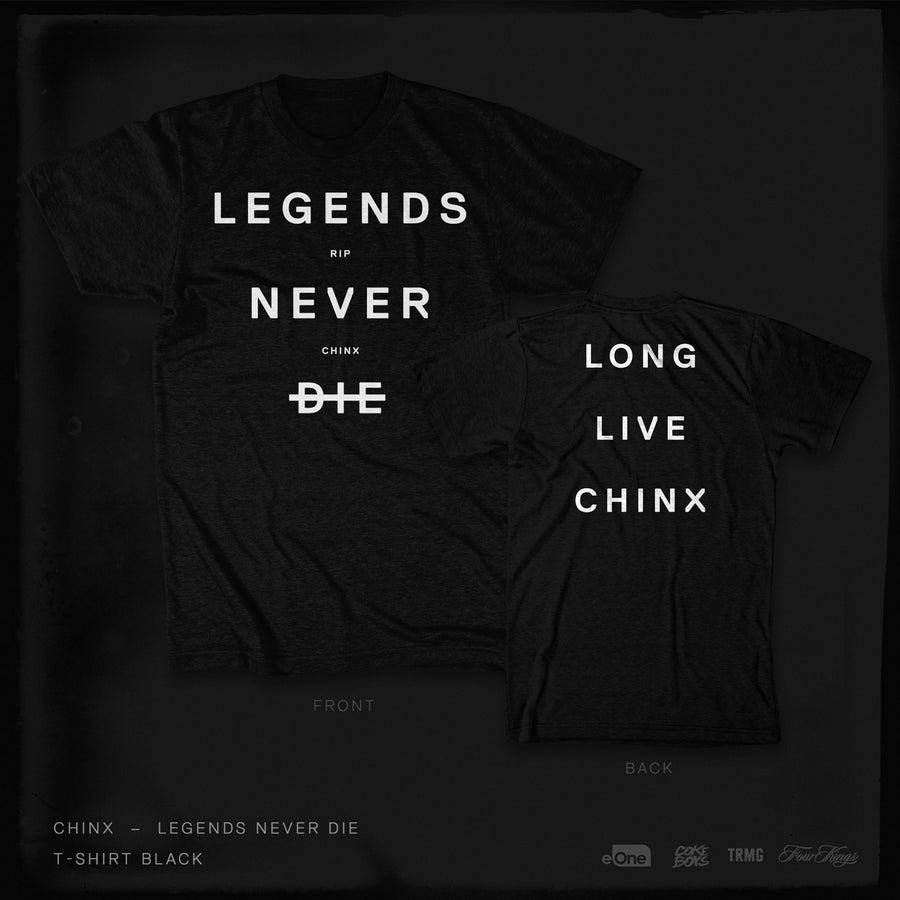 Image of Legends Never Die - TSHIRT BLACK