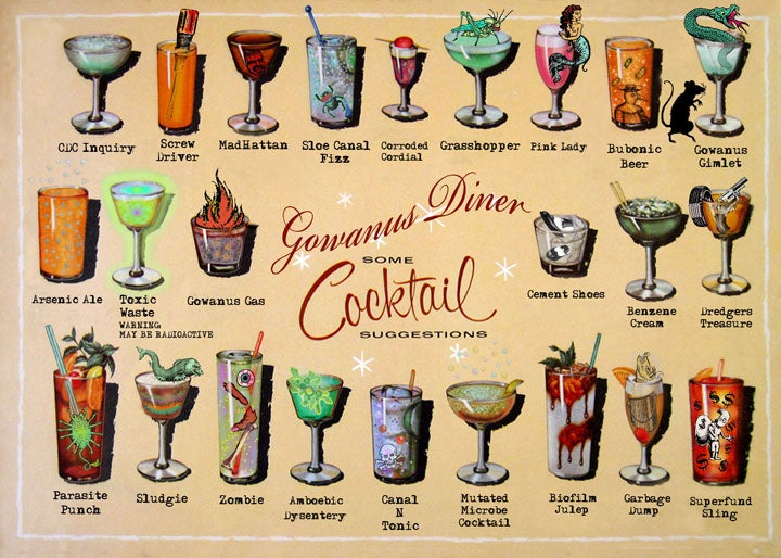 Image of Gowanus Diner Placemat